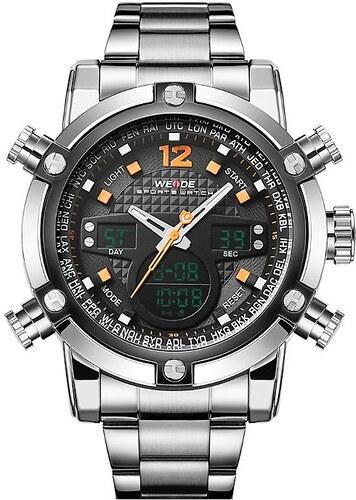 3b722f1c3 Pánské hodinky WEIDE 5205 oranžové - Glami.cz