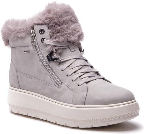 fd1010a3212 Sneakersy GEOX - D Kaula B Abx D D84AWD 00032 C1010 Lt Grey - Glami.cz