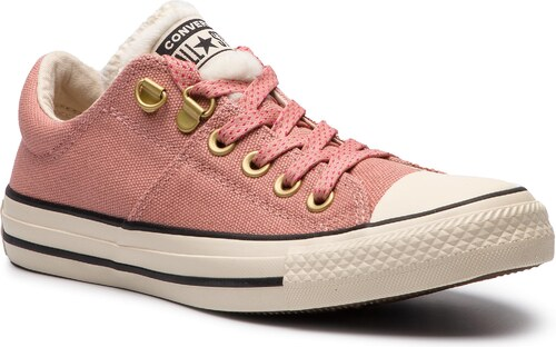 Plátěnky CONVERSE - Ctas Madison Ox 562484C Rust Pink Natural Ivory Black 416253a648