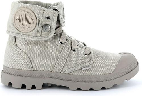 7782e99452c9 Palladium Boots Pallabrouse Baggy šedé 92478-062 - Glami.sk