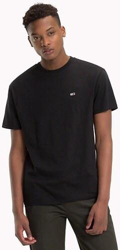 aed3b66779 Tommy Hilfiger pánske čierne tričko Classics - Glami.sk
