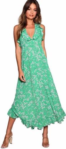 39443c875cc5 BOOHOO Zavinovacie kvetinové maxi šaty - Glami.sk