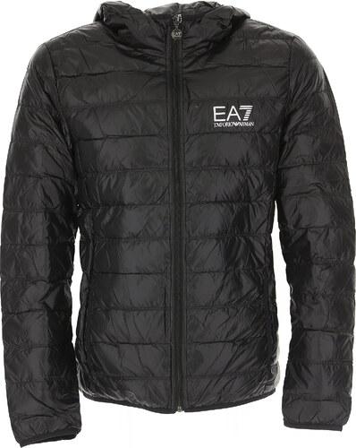 fb8e5e597 -15% Emporio Armani Péřová bunda pro muže, Puffer lyžařská bunda Ve  výprodeji, Černá, Polyamid