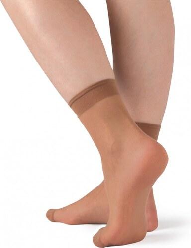 2f826c846e5 EVONA a.s. Dámske ponožky SILVER 1004 telové 2 pack - SILVER PON 1004 25-27