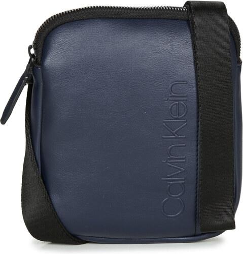 -5% Nové Calvin Klein Jeans Vrecúška Malé kabelky ELEVATED LOGO MINI FLAT  CROSSOVER Calvin Klein Jeans 808b629283c