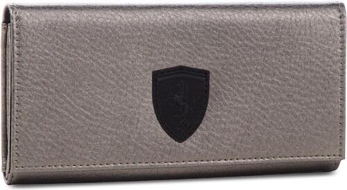 Veľká Peňaženka Dámska PUMA - Sf Ls Wallet F 053477 01 Metallic Ash ... 498c777c961