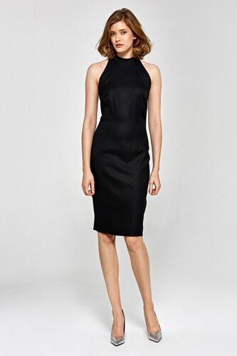 45d8bf8440ba Dámske puzdrové šaty Colett cs14 - čierne - Glami.sk