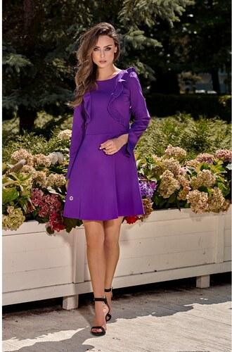 Elegantné šaty s volánom L271 Lemoniade - Glami.sk 4e8a2726c24