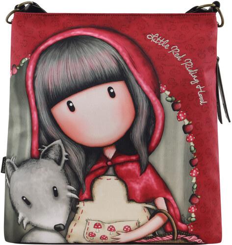 Santoro červená crossbody kabelka Gorjuss Little Riding Hood - Glami.cz 9f9885b7756