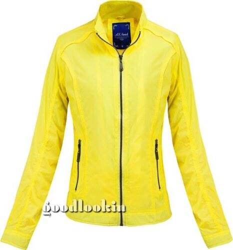 AL NWICK Žlutá dámská větrovka (50321) - Glami.cz 01b2797284c