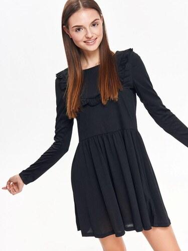 94ea22fc8555 Top Secret Šaty dámské černé s dlouhým rukávem - Glami.cz