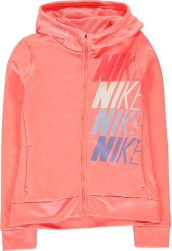 Nike Therma Full Zip Mikina s kapucí Junior dívčí - Glami.sk ef77562f02f