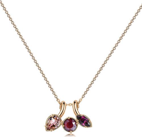 70d2b8508 Brosway Bronzový náhrdelník s krystaly Affinity BFF69 - Glami.cz