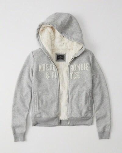 Abercrombie Fitch dámská zimní mikina s kožíškem new - Glami.cz c2aafc353b