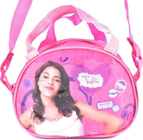 ba5d7782cd Dívčí kabelka Disney Violetta - růžová - Glami.cz