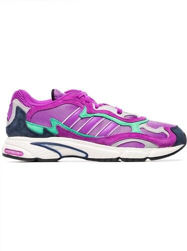 best service 0ec08 82891 -52% Adidas purple Temper Run suede sneakers