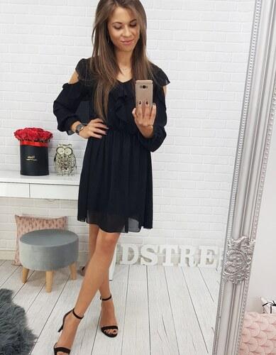 8e99605ea426 Brand Dámske šaty LAURA (ey0449) - čierne ey0449 - Glami.sk