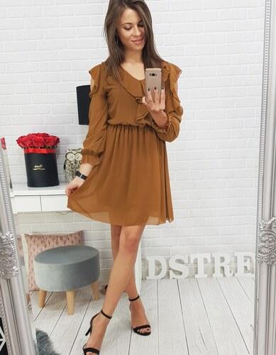 c044dcd5a70a Brand Dámske šaty LAURA (ey0450) - medené ey0450 - Glami.sk