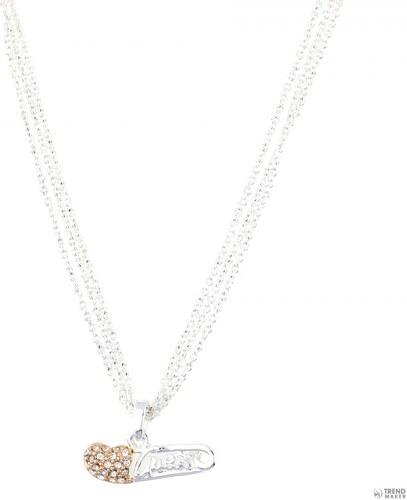 116570d29 Guess Női nyaklánc ékszer Fém ezüst/ rosearany vörösarany arany ...
