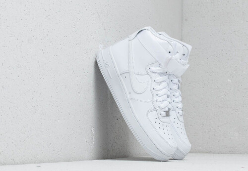 buy online 95ca7 ea58f Nike Wmns Air Force 1 High White  White-White