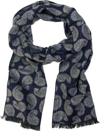 Avantgard Kék férfi sál szürke paisley mintával - Glami.hu 7f99030221