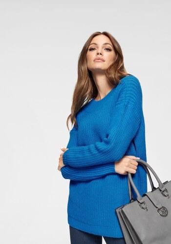 45fc8d4b43e Vero Moda Dlouhý pulovr »GLENDORA NEW DEEP BACK« královská modrá ...