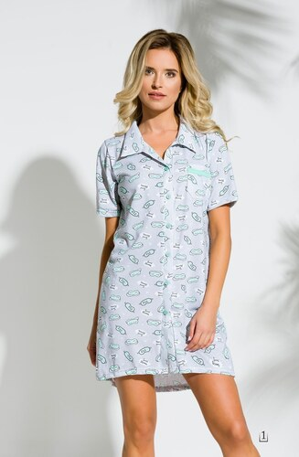 aceec395022 -50 Kč -28% 2139 Krátká dámská noční košile DALIA S-XL - TARO