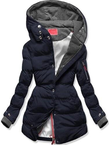 MODOVO Női téli kabát kapucnival S600 sötétkék - Glami.hu f71f7ef085