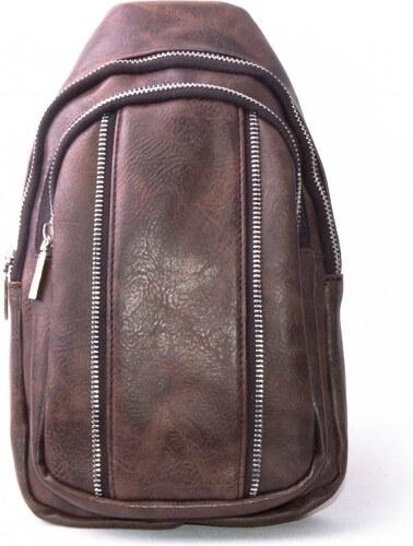 Lucy World Pánský malý batoh MINI eko leather coffee 8809 - Glami.cz 087efc5046
