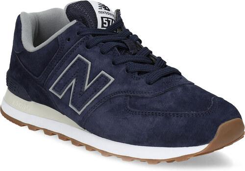 New Balance Modré pánske tenisky so šedými detailami - Glami.sk 31a9c3b8046