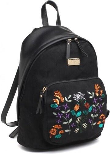 ikabelky Dámsky ruksak s výšivkou BE-BL3476 čierny - Glami.sk f064e6dfd4