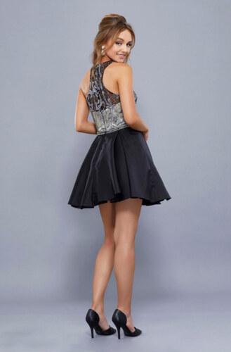Krátké taneční šaty s květy - Glami.cz 0605691ad5