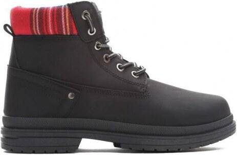 Dámské černé kotníkové boty Gina 010 - Glami.cz ce6943bf7c
