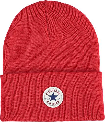 Converse Červená čepice Tall Cuff Watchcap Knit - Glami.cz 7981af931b