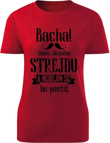 Lemurák s.r.o. Dámská trička Bacha 9b4547cc39
