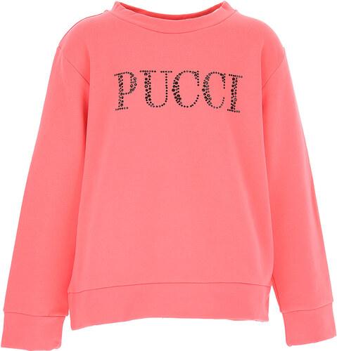 Emilio Pucci Dětské mikiny s kapucí   mikiny pro holky Ve výprodeji ... f5fa77e285