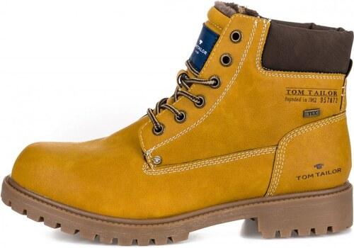 Tom Tailor pánská kotníčková obuv 43 žlutá - Glami.cz 4391f17a61