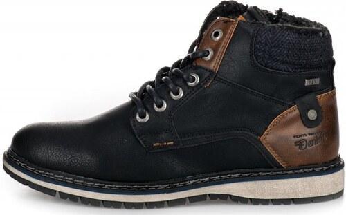b3b45707e7 Tom Tailor pánská kotníčková obuv 44 černá - Glami.cz