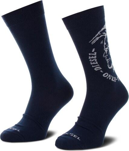 Sada 2 párů vysokých ponožek unisex DIESEL - Skm Ray 00SAYH-0EASX-E4076  Tmavomodrá e98a50cf8c