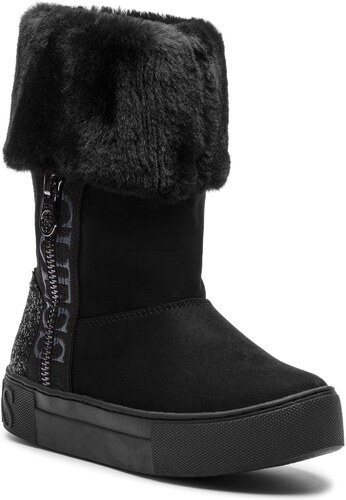 Magasított cipő GUESS - FLMAE4 ESU12 BLACK - Glami.hu 08b29451c0