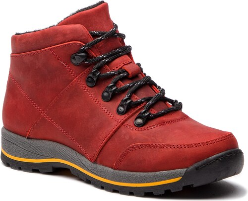 b530e6e34a8 Trekingová obuv NAGABA - 056 Czerwony - Glami.cz