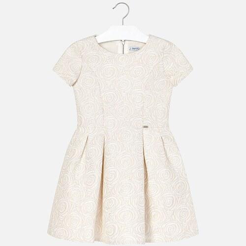 a7a4685ad473 Sviatočné šaty MAYORAL JACQUARD - Glami.sk