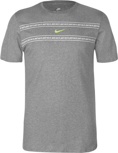 Pánské triko Nike QTT Šedé c68e622b19