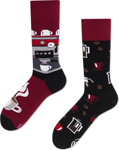 Ponožky MANY MORNINGS regular 1 PÁR DARK ESPRESSO - Glami.cz 16051c2916