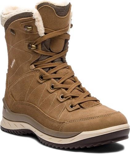 Trekingová obuv LOWA - Leventina Gtx Mid Ws GORE-TEX 420510 Taupe Cream 4601 2ebc2e40695