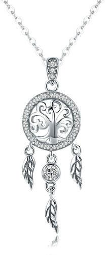 7e566ac6d Royal Fashion náhrdelník Spirituální lapač snů SCN298 - Glami.cz