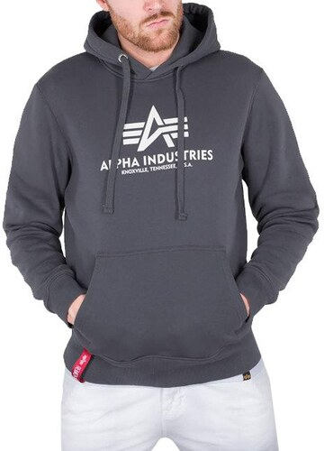 Alpha Industries Basic Hoody 178312 136 - Glami.cz 1b6e5c574c9