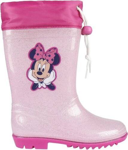 5841fbb578 Disney Brand Dievčenské gumáky Minnie - ružové - Glami.sk