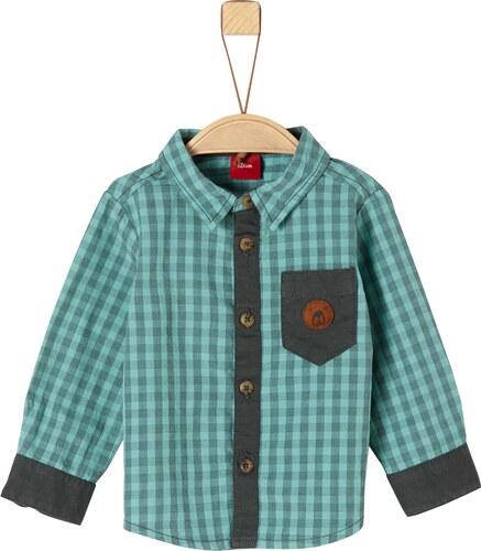 37a2befdae21 s.Oliver Chlapčenská košeľa - zelená - Glami.sk