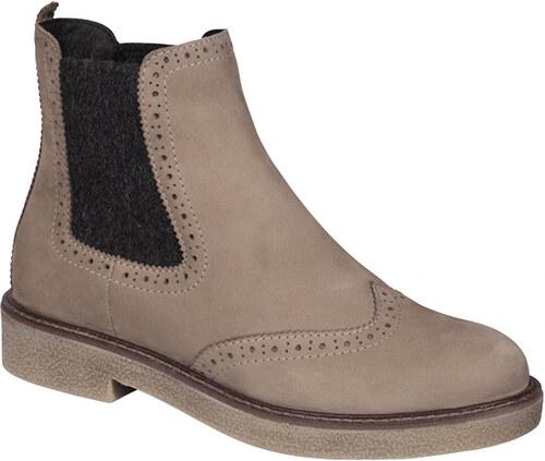 c5292073a1 -40% Scholl Dámske členkové topánky Rudy Memory Cushion Taupe F272921062